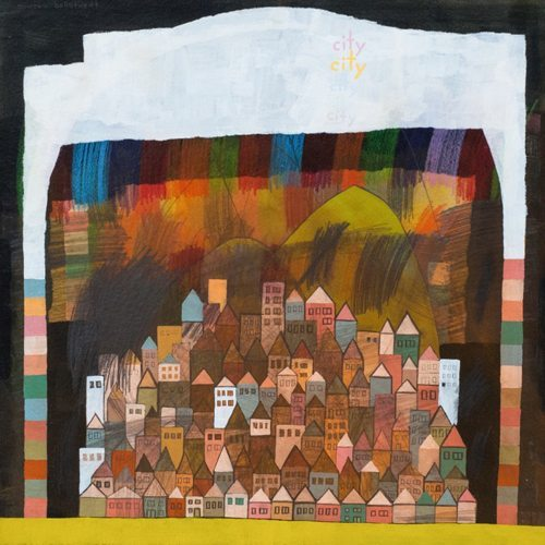 """city city city city rainbow"" by Andrew Ballstaed"