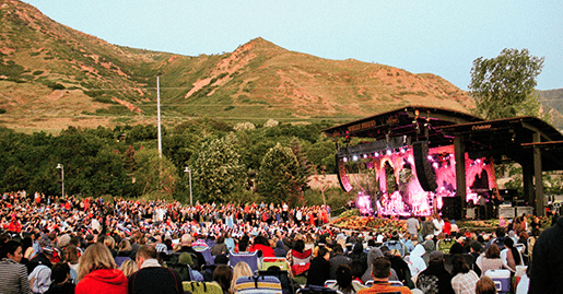 Red butte garden amphitheatre events