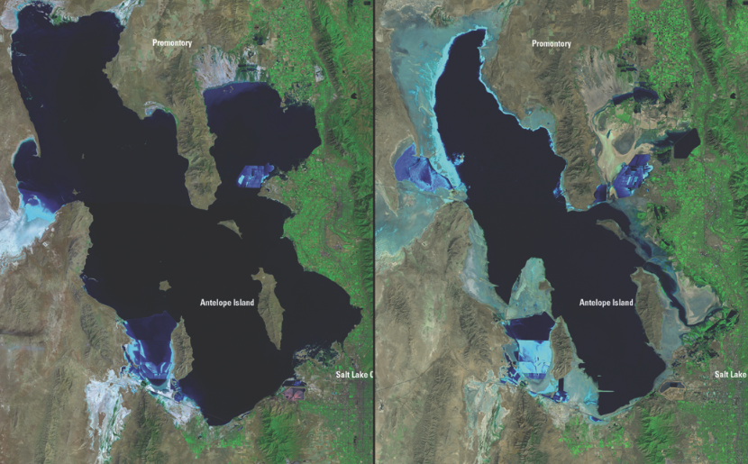 Change Agents CATALYST Great Salt Lake ENVIRONMENTAL WITNESS - Great salt lake on a us map