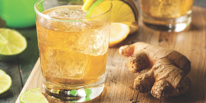 Minuman Probiotik - Ginger Ale