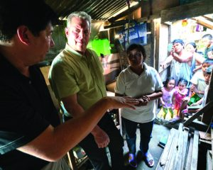 Al Gore appears in  An Inconvenient Sequel by Bonni Cohen and Jon Shenk, an official selection of the Documentary Premieres program at the 2017 Sundance Film Festival. Courtesy of Sundance Institute.