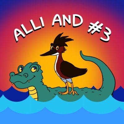 Allie and # 3 artwork