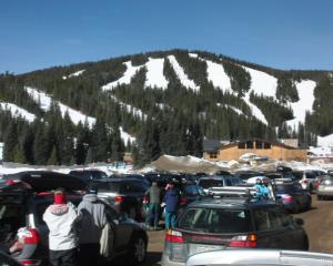 ski resort parking