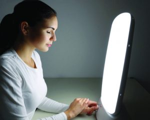Lichttherapie zu Hause