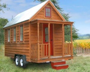 Build your own home on a trailer… with the Lusby Tiny House plans.